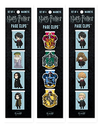 Re-Marks Harry Potter Anime Hogwarts, Anime Students, and Crests Page Clip 3 Pack by Re-Marks