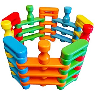 Magz Bricks 45 Piece Magnetic Building and Stacking Set