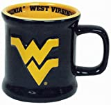 Game Day Outfitters NCAA West Virginia Mountaineers Mug Ceramic Relief