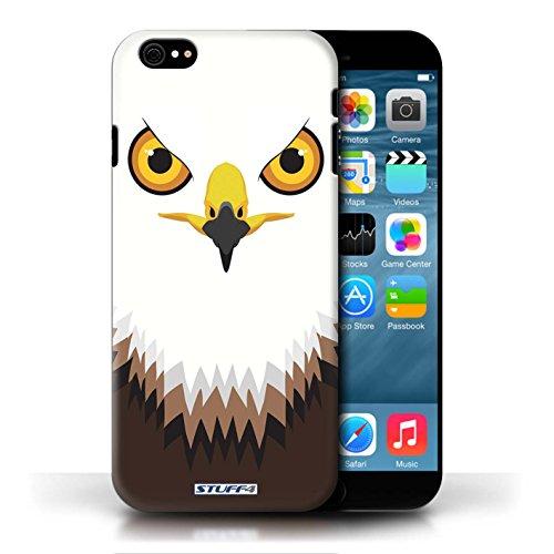 Etui / Coque pour Apple iPhone 6/6S / Faucon/Aigle conception / Collection de Museaux
