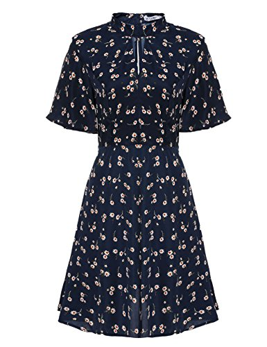 Meaneor Bohemia Collar Sleeve Floral product image