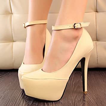 97965c86f30 Women s Pointed Toe Platforms Stilettos High Heel Fashion Party Shoes and  Wedding Shoes Rose Red Black