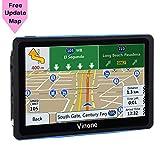GPS Navigation for Car, 7 inch 8GB&256MB GPS Navigation System,Spoken Turn- to-Turn Traffic