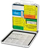 North by Honeywell 3524BUS 24 Unit Steel Minimum National - First Aid Logo