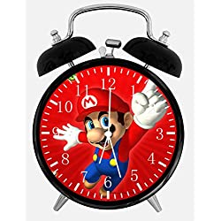 Ikea New Super Mario Alarm Desk Clock 3.75 Room Decor W08 Will Be a Nice Gift