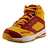 And1 Typhoon Youth US 1.5 Yellow Basketball Shoe