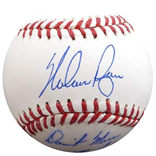 Texas Rangers Autographed Mlb Baseball - Nolan Ryan Autographed Official MLB Baseball Texas Rangers