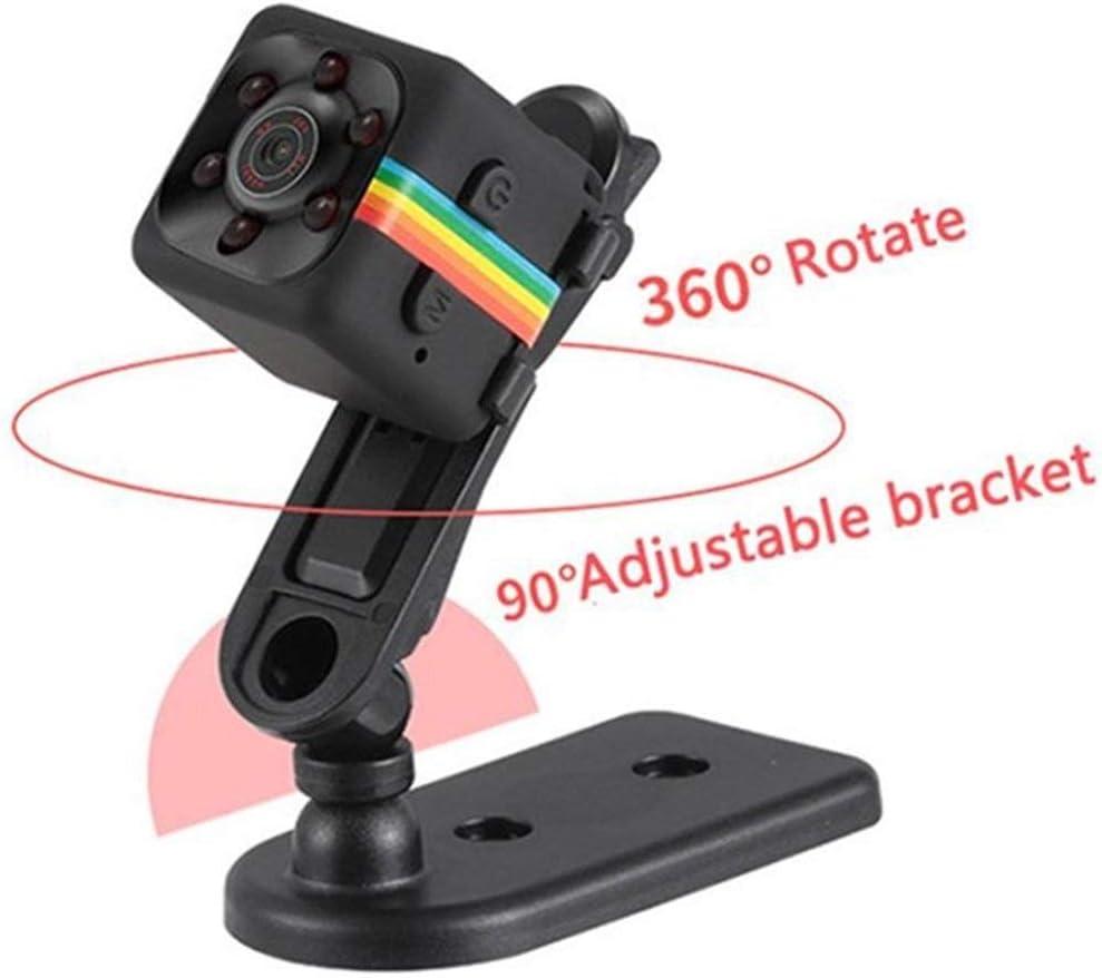 HENGTONGTONGXUN Original SQ11 Mini Camera Waterproof case Degree Wide-Angle Lens HD 1080P Wide Angle SQ 11 Mini Camcorder DVR Sport Video cam Easy to use Bundle : 1080P, Color : Black SQ11