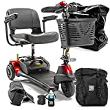 Roadster Deluxe 3-Wheel Electric Travel Electric Scooter S731 + Challenger Accessories Bundle