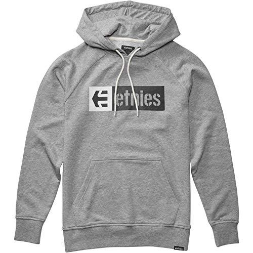 Etnies New Box Pullover Hoody Large Grey/Heather