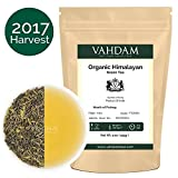Organic Green Tea Leaves from Himalayas(100+ Cups),100% Natural Organic Green Tea Loose Leaf, Powerful Natural Anti-Oxidants, 2017 Harvest, 9oz, Organic Loose Leaf Green Tea