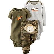 [Sponsored]Camo Monkey 3 Piece Pant Set Newborn