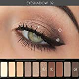 1PCS Palette Eyeshadow Highlighter Glitter And Matte Smoky Eyeshadow Palette 10 Shades