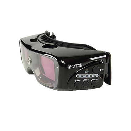 Activado y desactivado del modo pantalla Servore gafas de careta de seguridad para soldar ARC-