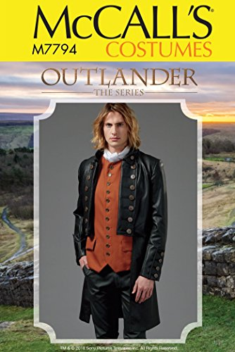 (McCall's Patterns M7794 Men's Costume Sewing Pattern)