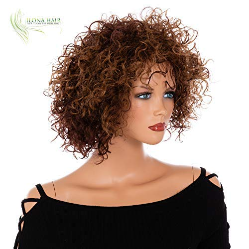 Search : Afro Style Wig for Black Woman Brown Curly Hair Wig BARIKA from African-American collection … … (30/33)