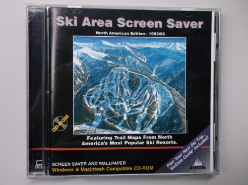 Ski Area Screen Saver North American Edition - 1995/96