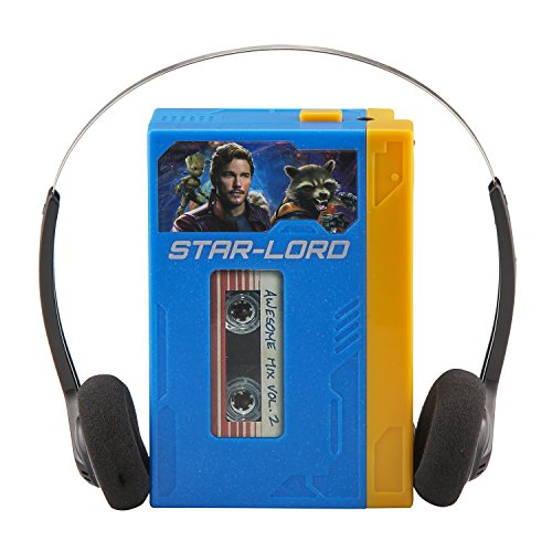 Guardians of The Galaxy Marvel Movie Toy Starlords Walkman Kids Voice Recorder and Kids mp3 Player A - http://coolthings.us