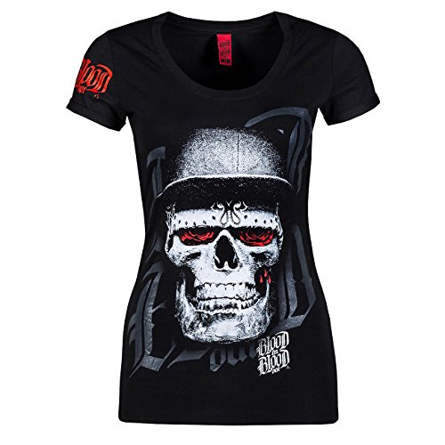 Blood In Blood Out Mujeres Ropa superior / Camiseta Skull Hat