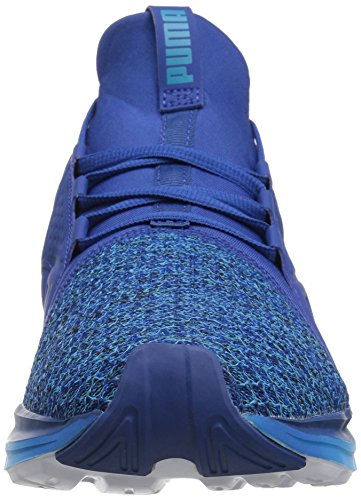 Puma Heren Enzo Knit Cross-trainer Schoen True Blue / Blue Donau
