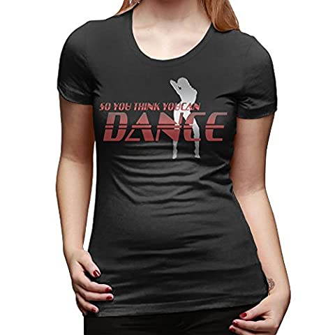 Gameser So You Think You Can Dance Women's Custom T-shirt S Black (Watch Shameless Season One)