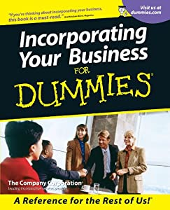 Incorporating Your Business For Dummies from For Dummies