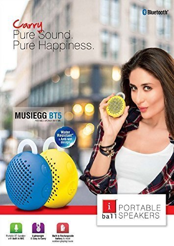 iball musiegg BT5 Portable bluetooth speaker with Mic Speakers