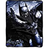 DC Comics Batman Arkham Origins Silk Soft Throw