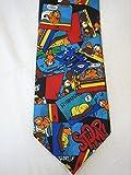 Vintage Garfield 'I Hate Spiders' Necktie