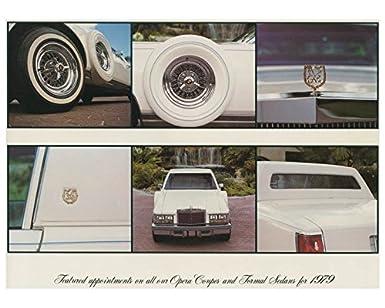 Amazon com: 1979 Cadillac Seville Eldorado Grandeur Neo