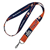 Houston Astros WinCraft 2017 Official World Series Champions Lanyard Key Ring Badge Holder