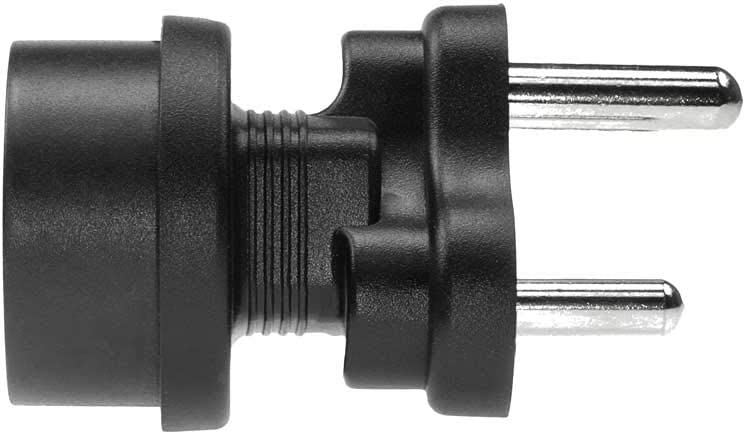 SF Cable India or South Africa BS546 Plug to Europe CEE7//7 Schuko Receptacle Plug Adapter