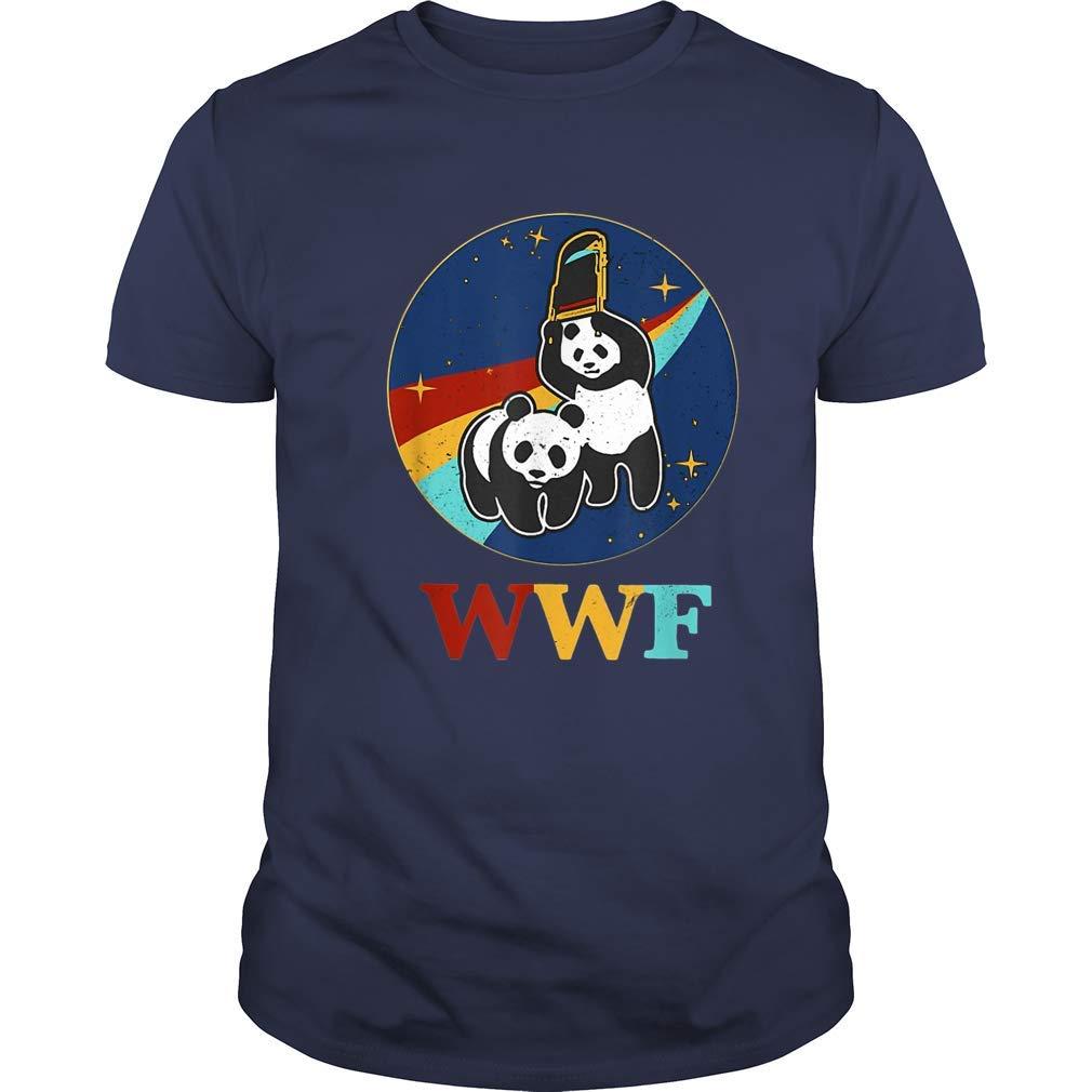 Wwf Panda Bears Vintage Retro Tshirt Wwe Wrestling Funny Tshirt