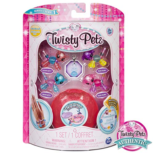 Twisty Petz - Babies 4-Pack Kitties and Puppies Collectible Bracelet Set for Kids