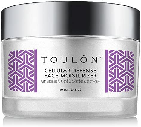 Antioxidant Moisturizer for Face with Vitamin A,C,E,Cucumber and Chamomile. Reduces Wrinkles and Fights Free Radical Damage, 2 oz