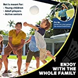 Boulder Portable Badminton Net Set - for
