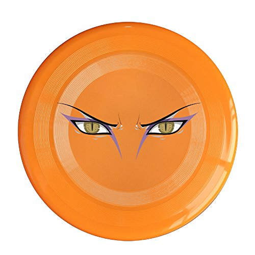 VOLTE Orochimaru Eyes Japanese Comic Naruto Shippuden Orange Flying-discs 150 Grams Outdoor Activities Frisbee Star Concert Dog Pet Toys