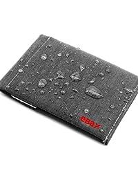 Mens Bifold Wallet RFID Minimalist Slim Front Pocket Wallet