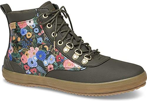 Keds x Rifle Paper Co. Scout Water-Resistant Boot Garden Party Women's