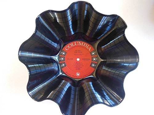 JOHNNY CASH Vinyl Record Bowl