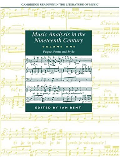 Book Music Analysis in the Nineteenth Century: Volume 1, Fugue, Form and Style (Cambridge Readings in the Literature of Music) (2004-11-11)