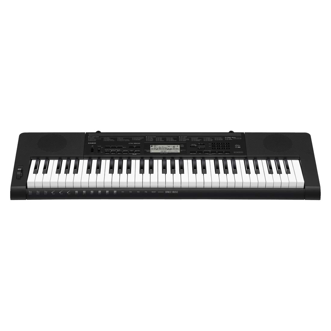 Casio CTK-3500 61-Key Touch Sensitive Portable Keyboard with Power Supply by Casio