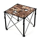 Lucky Bums Quick Camp Table with Carrying Bag, Kryptek Highlander