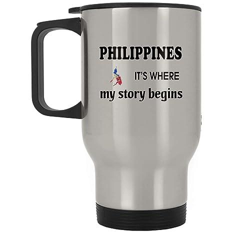 Philippines Travel Coffee Mug Men Women