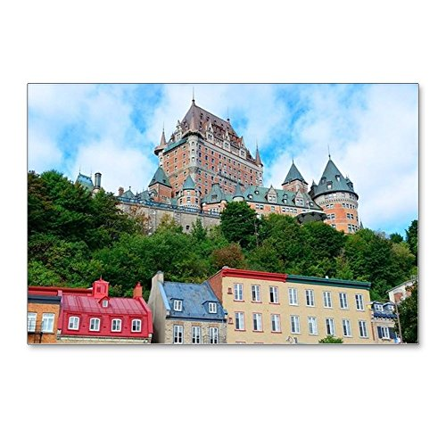 (CafePress - Chateau Frontenac In The - Postcards (Package of 8), 6