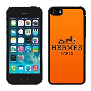 Beautiful Unique Designed iPhone 5C Cover Case With Hermes 26 Black Phone Case