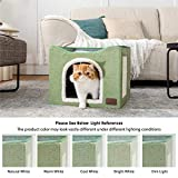 Bedsure Cat Beds for Indoor Cats -Large Cat Cave