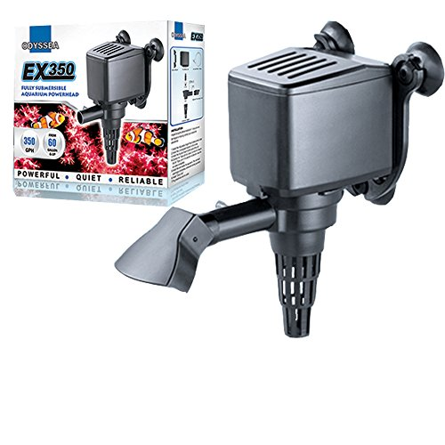 Odyssea EX 350 PH Powerhead Aquarium Water Pump Submersible GPH