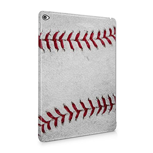 Outside Team Game Realistic Leather Official Baseball Ball Pattern Print Plastic Tablet Snap On Back Case Cover Shell For iPad Air (Jersey Slim Rugby)