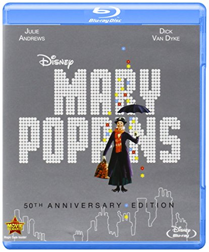 Blu-ray : Mary Poppins (50th Anniversary) (With DVD, Anniversary Edition, Dubbed, 2 Pack, Dolby)
